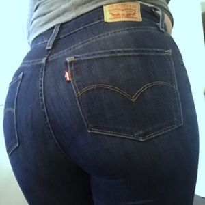 Size 28 REG High Rise Levi's Stretch Flair Jeans